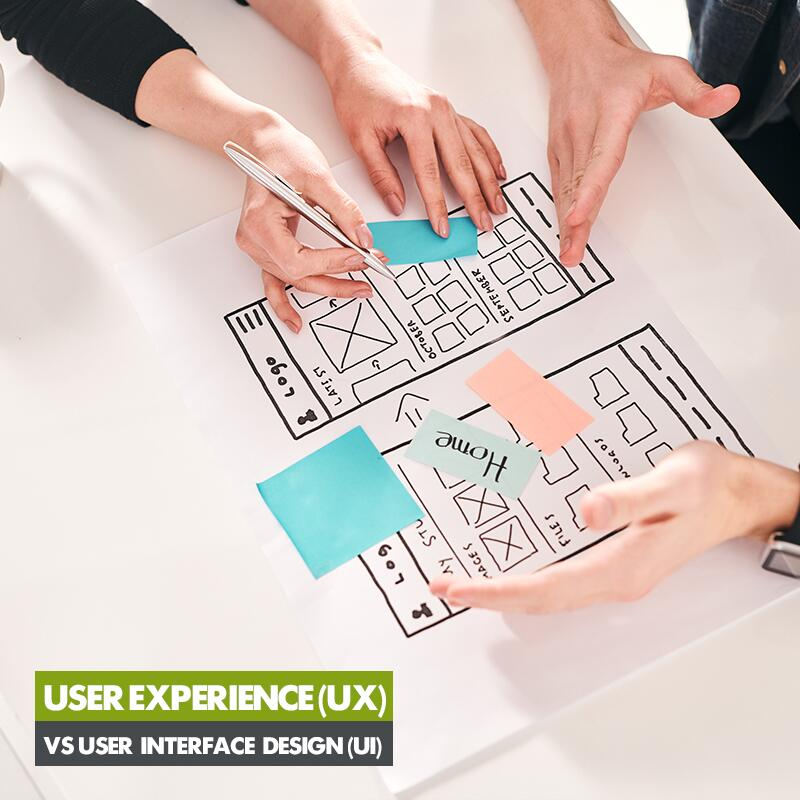 User Experience (UX) VS User Interface Design (UI)